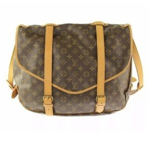 Louis Vuitton Saumur 43 monogram bag